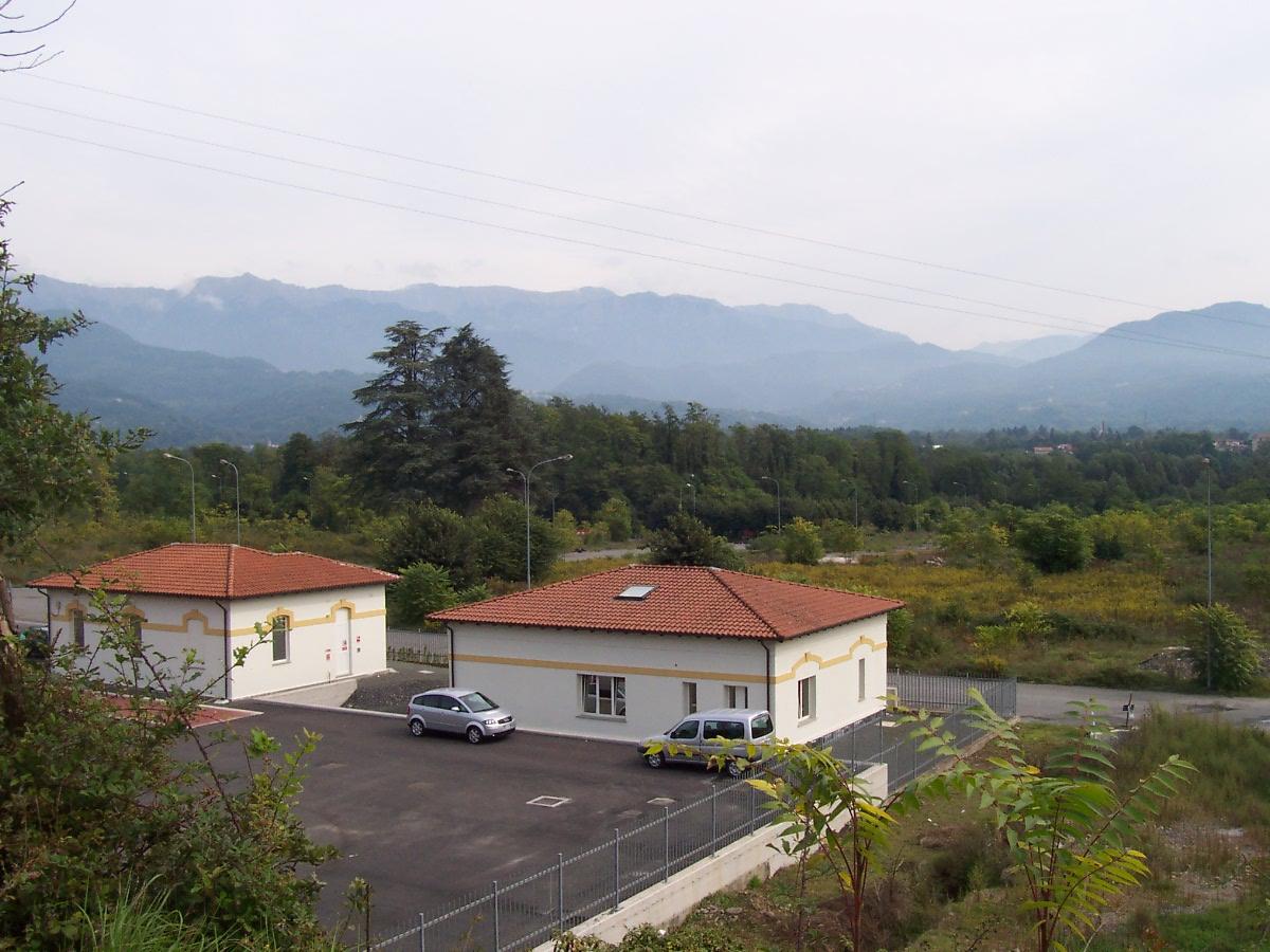 Veduta area Industriale di Boceda