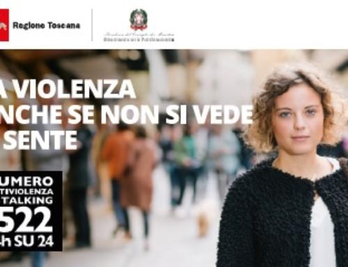 """Numero Antiviolenza e Stalking: 1522 """"contro la violenza di genere"""""""