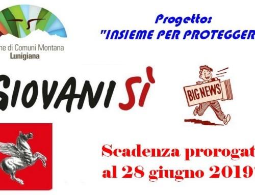 Servizio civile regionale: avviso per la selezione 5 giovani in Lunigiana