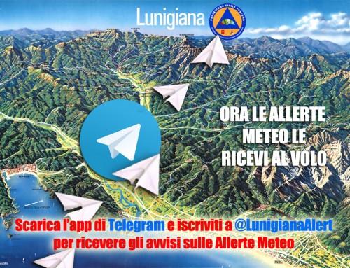 Servizio di allerta meteo con Telegram